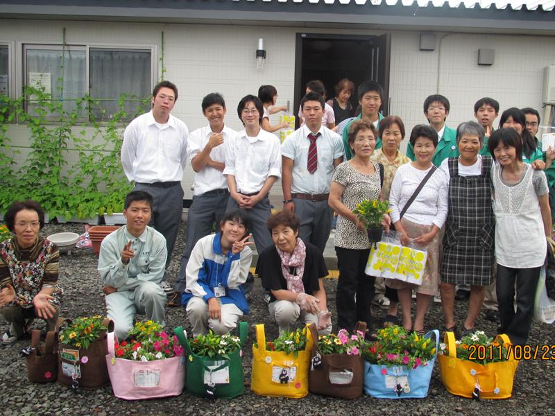 熊本県立八代農業高校「生物活用研究部」宮城県内交流活動